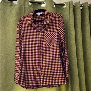 NWT Old Navy Plaid Flannel